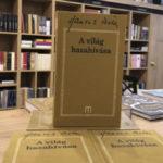 Hamvas Béla, A világ hazahívása, Babérliget Könyvesbolt